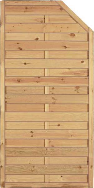 Sichtschutzzaun Holz Pfosten ~ Newgarden  Zaun + Garten  Gartenzaun Holz  Sichtschutzzaun  Maxi